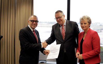 L'aéroport de Genève certifié conforme aux exigences de l'AESA en matière de sécurité