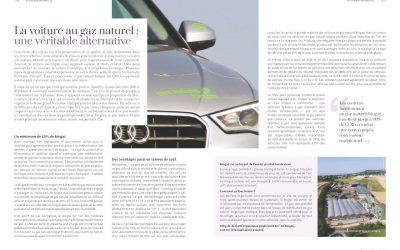 La voiture au gaz naturel : une véritable alternative