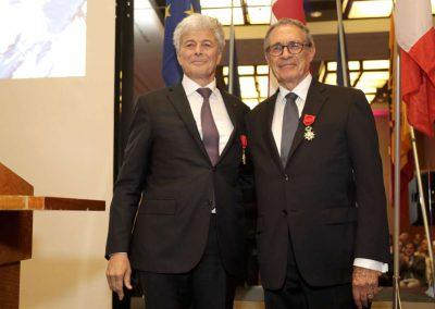 Le Préfet et Claude Haegi