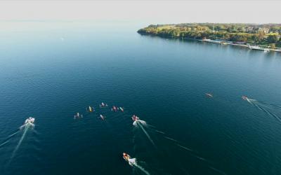 ATMB partenaire des championnats du monde d'aviron de mer à Thonon-les-Bains