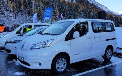 Tunnel du Mont Blanc : Inauguration de la borne de recharge rapide pour les véhicules électriques installée sur la plateforme Nord