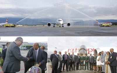 Ethiopian Airlines inaugure la première ligne long courrier vers l'Afrique depuis Genève