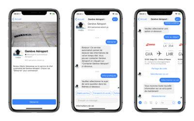 Genève Aéroport renforce ses services sur les réseaux sociaux